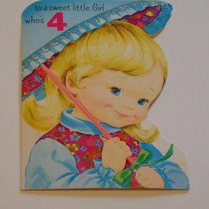 Early 1970's Paper Birthday Card -